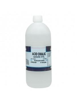 Acid oxalic solutie 5% 1L