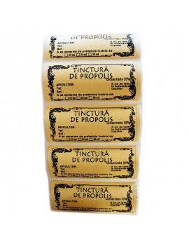 Etichete propolis la rola