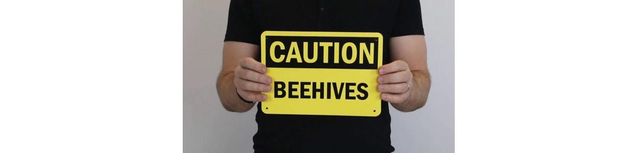 Panouri avertizare albine si publicitare
